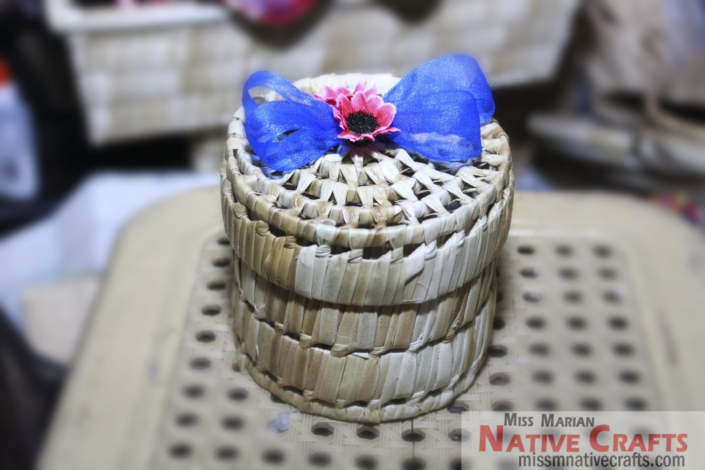 Lauhala Pandan Round Gift Boxes For Wedding Favors And Wholesale