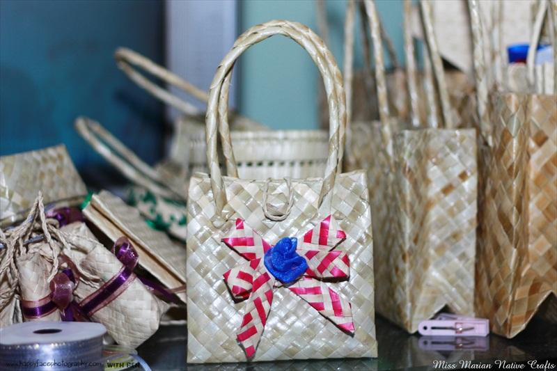 Miss Marian Native Crafts, pandan bag for giveaways