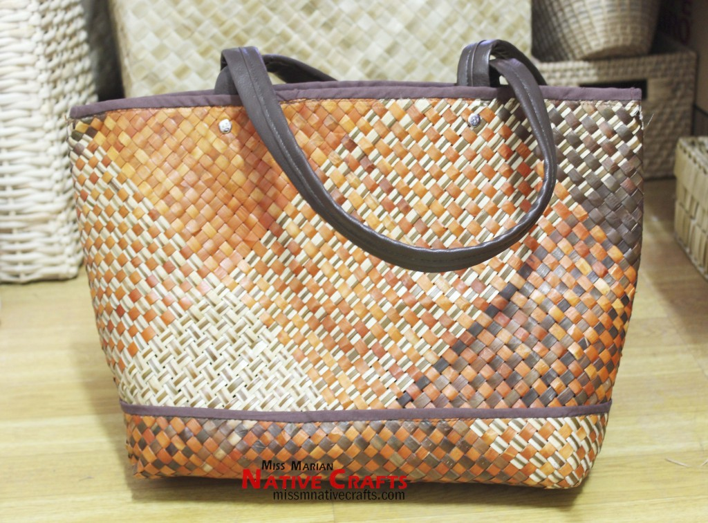 Cebu pandan ladies hand bag