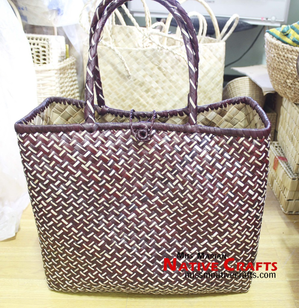 Triple style  Lauhala Ladies Bag