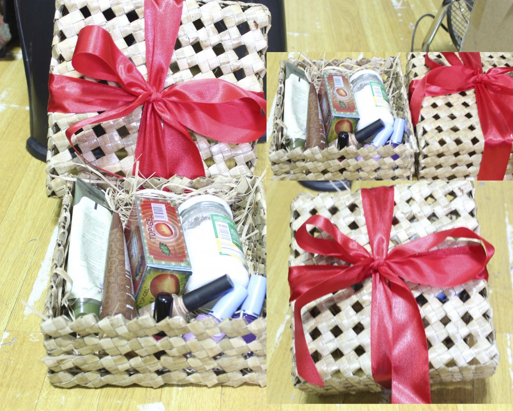 Customized Lauhala Sinabad Gift Box