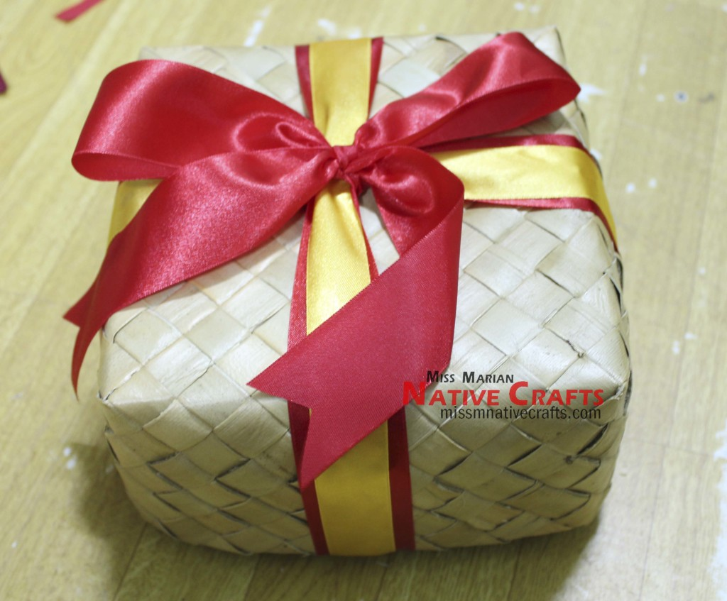 Customized Lauhala Gift Box