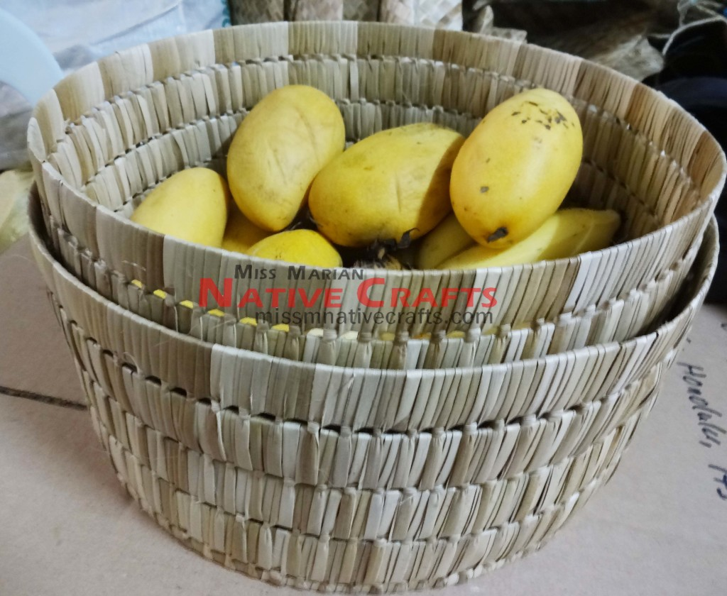 Round Basket With No Lid