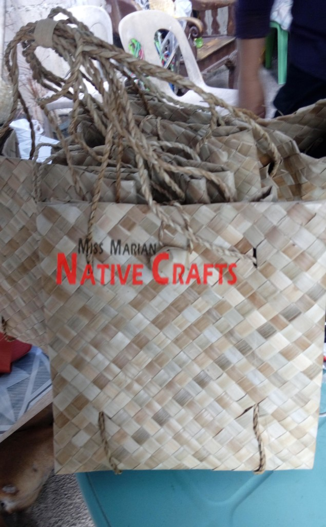 Lauhala Flax Kete bags
