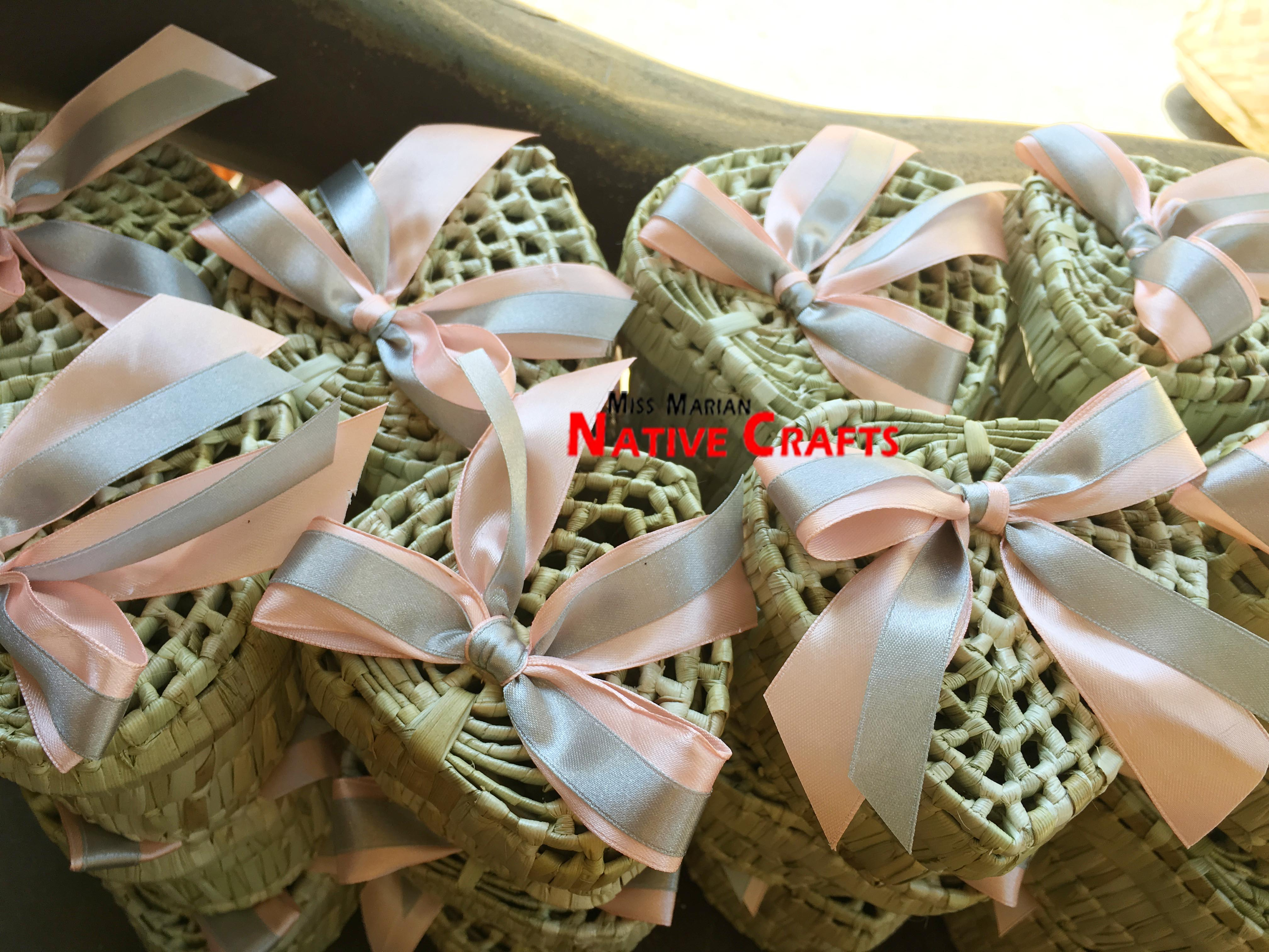 Heart Box With Ribbons And Tags Wedding Favors
