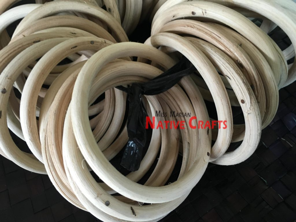 Small Rattan Rings (4 inches round)